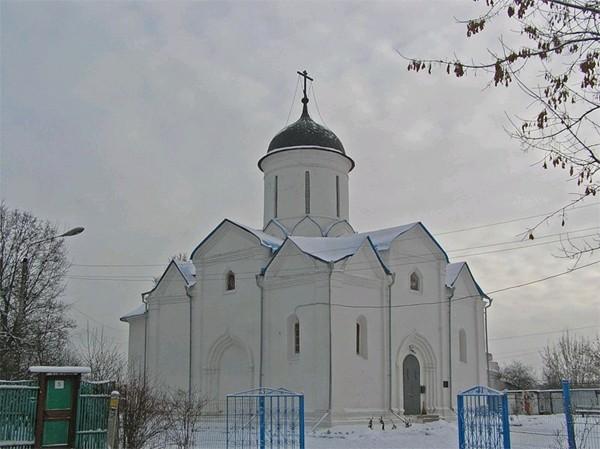 Успенская церковь город Клин