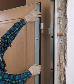 Дверь металлическая Клин