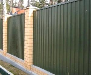 Забор, Клин