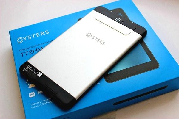 обзор водительского планшета Oysters T72HM 3G